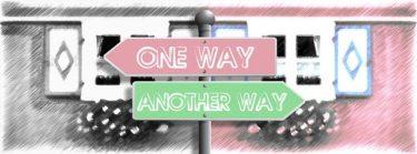 不可逆性の意味「一方向の言葉(つまり、逆はない)」